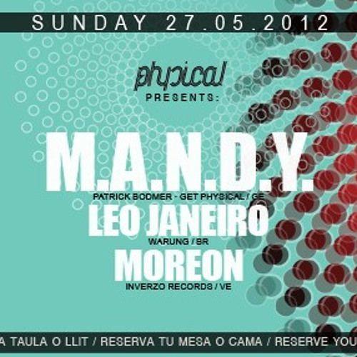 Leo Janeiro Live set Mac Arena Beach_Barcelona (part1) 27.05.2012
