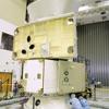 ESA ESTEC Test Centre Sounds: Bepi Colombo MCS on QUAD shaker (Sine 16G)