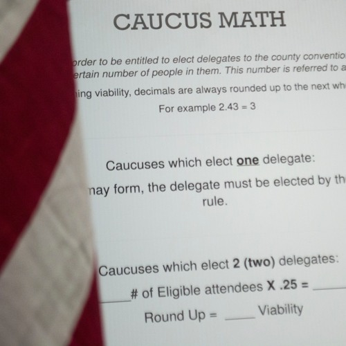 Counting heads: How caucus precinct chairs are trained