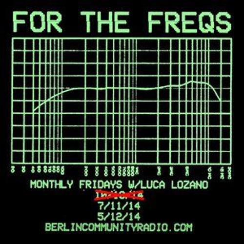 For The Freqs radioshow w/ Luca Lozano & Telephones May2015