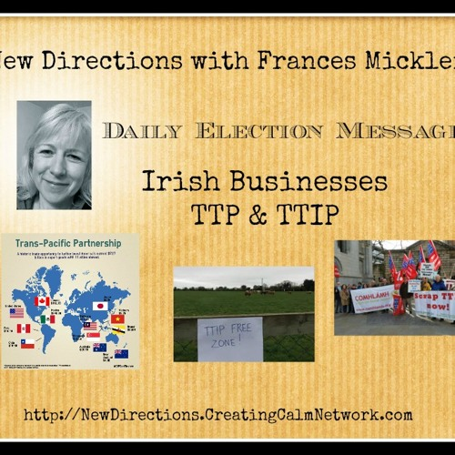 New Directions - Frances Micklem - Irish Business - TTP and TTIP