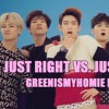 [GREENISMYHOMIE MASHUP] GOT7 VS. BTS - Just Right + Just One Day