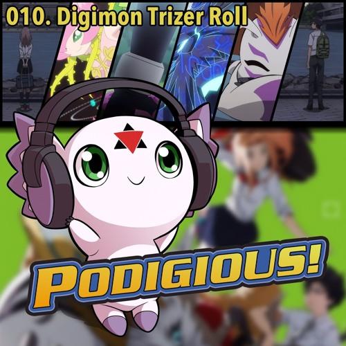 """010: """"Digimon Trizer Roll"""" [Digimon Adventure Tri Ch2 PV2]"""