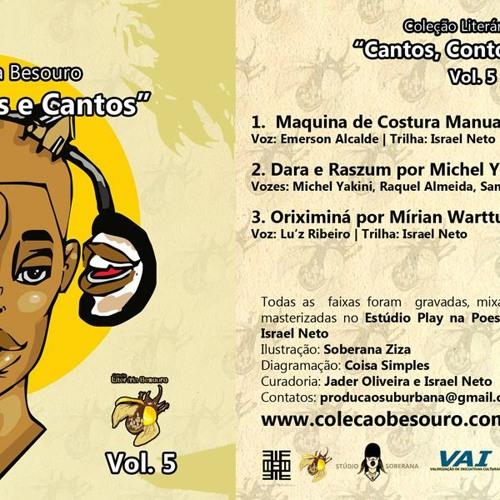 """Coleção Literária Besouro """"Cantos, Contos e Cantos"""" Vol. 5 #VoaBesouro"""