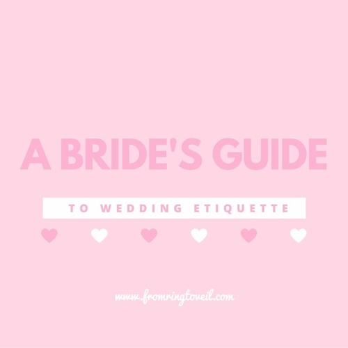 Episode #14 – A Bride's Guide to Wedding Etiquette