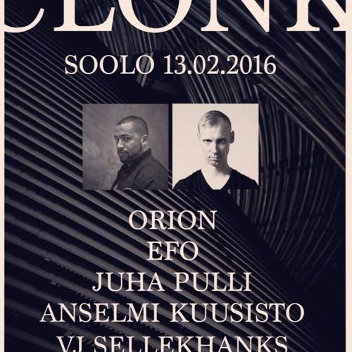 Orion & Efo - Live @ Clonk, Soolo, Kotka 13.2.2016 [Live Series #45]