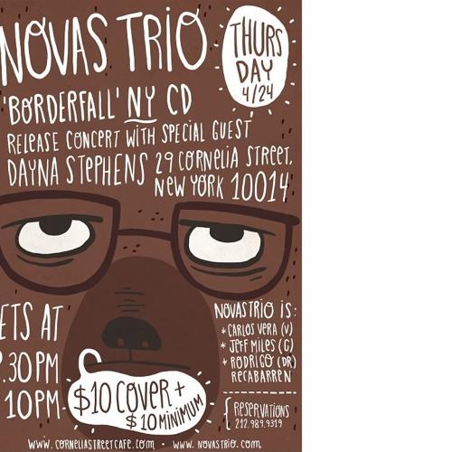 """Novas Trio w/ Dayna Stephens live @ CSC """"Throughout"""""""