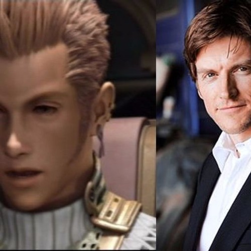 Gideon Emery - Balthier in Final Fantasy Greeting