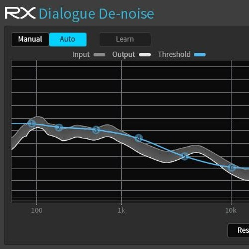 izotope rx plug in pack dialogue de noise plug in before and after example on dialogue by. Black Bedroom Furniture Sets. Home Design Ideas