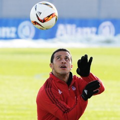 """""""I'm happy when the team is happy"""" - in conversation with team player Thiago"""