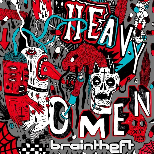 Braintheft - Heavy Omen feat. David Scribbles + Forestmind