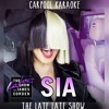 Sia About Being Famous And Hiding Her Face (Carpool Karaoke)
