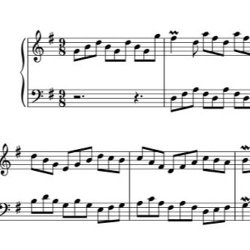 Invention No. 10 - J. S. Bach (BWV 781)