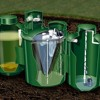 What are the different types of septic tank parts