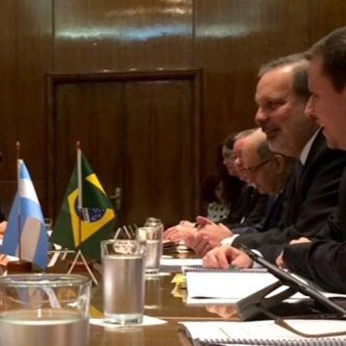 Entrevista do ministro Armando Monteiro em Buenos Aires