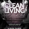 CLEAN LIVING ALL BLACK PARTY - EASTER SPECIAL MIX CD MIXED BY BILLGATES & DJ SCYTHER