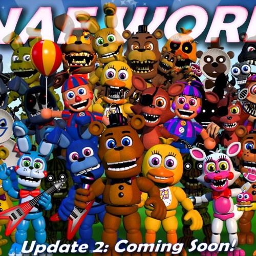 JT Machinima-Join The Party (FNAF WORLD RAP) By