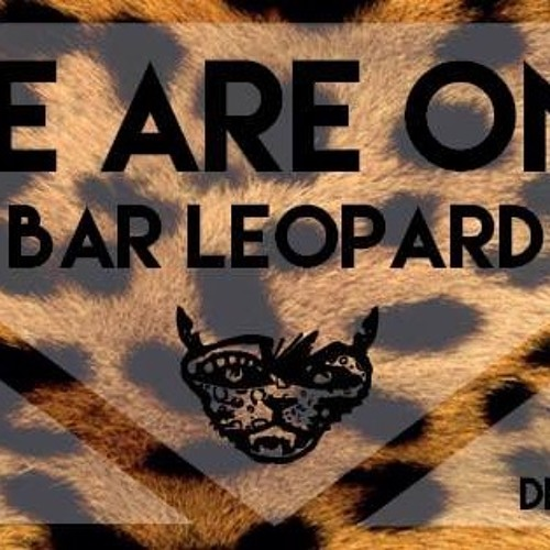 """Bar Leopard """" We are One """" podcast"""