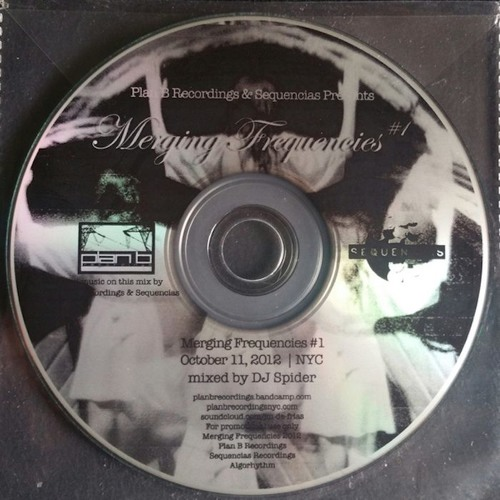 Merging Frequencies Mix CD (DJ Spider Vinyl Mix) 2012