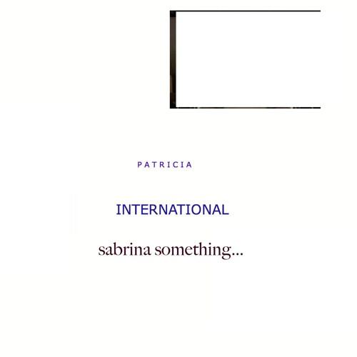 PATRICIA INTERNATIONAL Sabrina Someting 2016