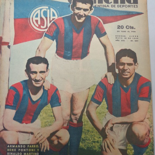 """Programa Nº 814- """"Recuperamos el gusto historico futbolistico"""""""