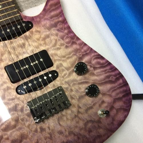 """Waltz guitars """"Barock Mood"""" Center PU sample"""
