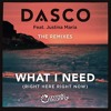 DASCO Ft. Justine Maria - What I Need (Deep Matter Radio Edit)OUT NOW
