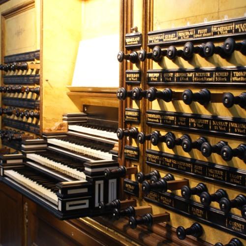 Ps 62 Basse De Trompette Ronald de Jong  (gedeeltelijk)  Hinsz orgel Bovenkerk Kampen ,(Hauptwerk)