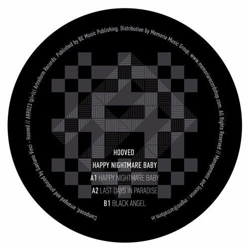 HOOVED - HAPPY NIGHTMARE BABY (VINYL ONLY) [ARR023]