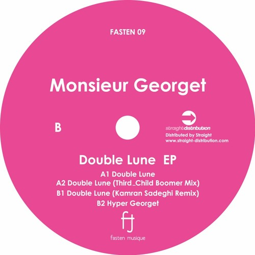 Monsieur Georget - Double Lune(Kamran Sadeghi Remix) - Preview