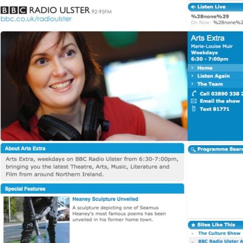 BBC Radio Ulster Interview for UNBOUND: A ★InstaMiniSeries