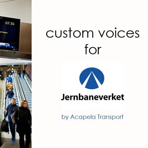 Jernbaneverket - Norwegian custom voice
