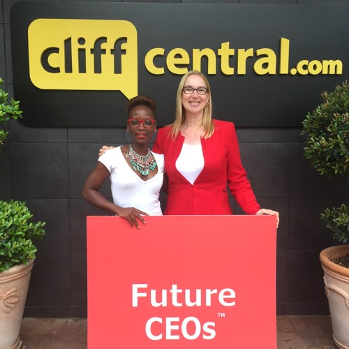 Melanie Hawken is interviewed on Cliff Central's Future CEOs