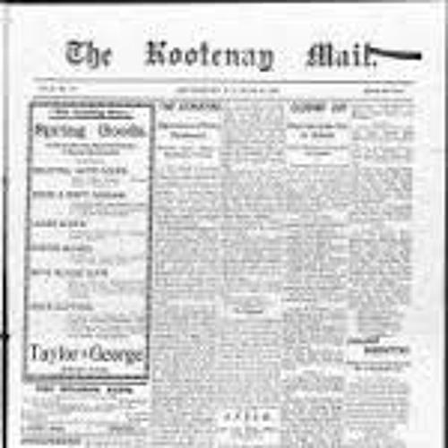 Kootenay Mail (1897-1898) 1995