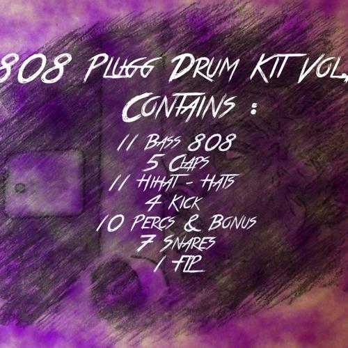 808 Plugg Drum Kit Vol 1 Official 2016 by 808DrumKit   808Drum Kit
