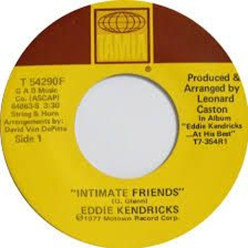 Eddie Kendricks - Intimate Friends (DJ XS Edit)