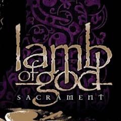 my raw rhythm guitar sound of lamb of god's Again We Rise [stereo]