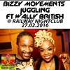 Bizzy Movements Juggling @ Red Flag Tour Ft Wally British 27th Feb 2016