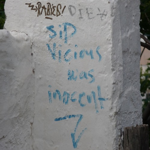 WhåZho - Sid Vicious was inocent [sic]