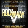 ROCKAWAY V CD - APR 2 @ BOSS