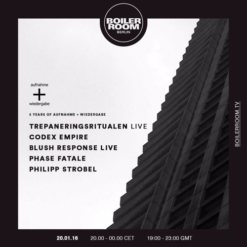 Philipp Strobel Boiler Room Berlin DJ Set