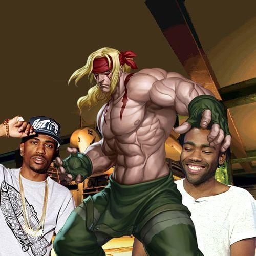 Jazzy NYC Rap Battle - Street Fighter 3: Third Strike x Big