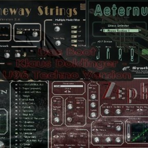 Das Boot (Klaus Doldinger, U96) Syntheway Strings, Zephyrus, Brass
