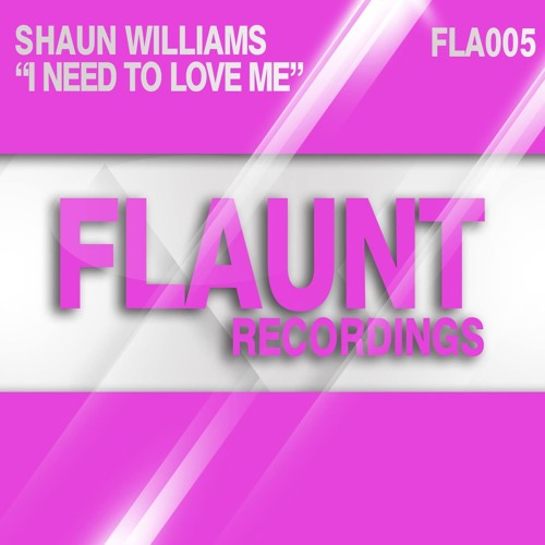 SHAUN WILLIAMS - I NEED TO LOVE ME (OUT NOW - AS SEEN IN MIXMAG)