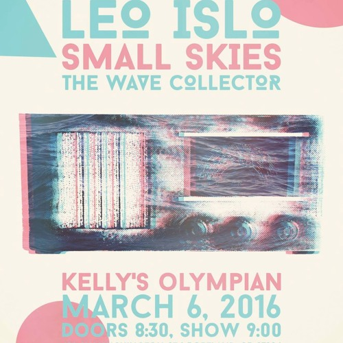 A Dreamy Night of PDX Local Electro Dream Pop with TheWaveCollector, Small Skies, and LEO ISLO