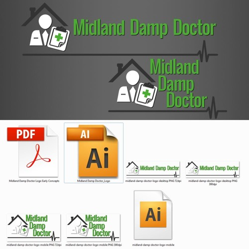Midland Damp Doctor - Final Logo Discussion With Lee & Darren