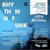 RHYTHM N FUNK 10th BIRTHDAY OLD SKOOL 2006-2013  PROMO CD MIXED BY CARLOS ARIES