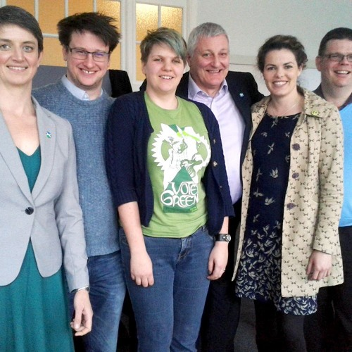 Scottish Greens Spring Conference with John Finnie, Maggie Chapman and co.