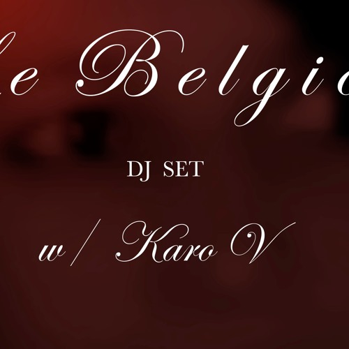 KAROV @ LE BELGICA 03.16 extended mix