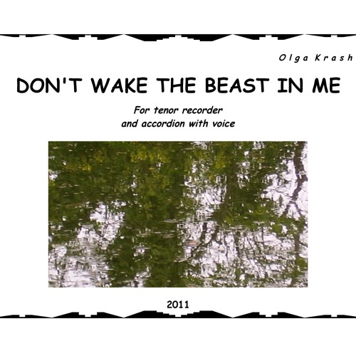 Olga Krashenko: Don't wake the beast in me (2011)